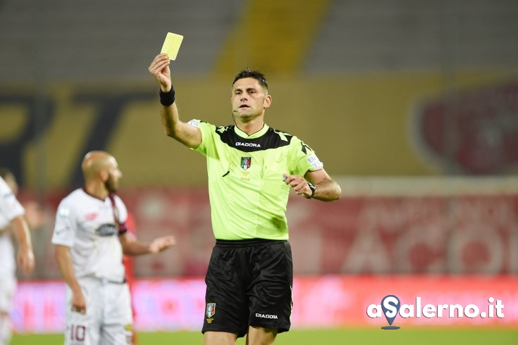 Eugenio Abbattista è l'arbitro di Salernitana-Palermo - aSalerno.it