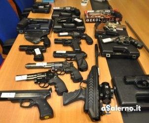 Armi sequestrate dalla Polizia 1