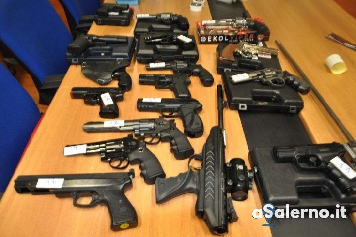 Cava de' Tirreni: sequestrate numerose armi e munizioni detenute illegalmente - aSalerno.it