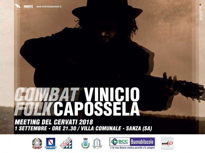 """Vinicio Capossela chiude sabato il Meeting del Cervati con """"Combat Folk"""" - aSalerno.it"""