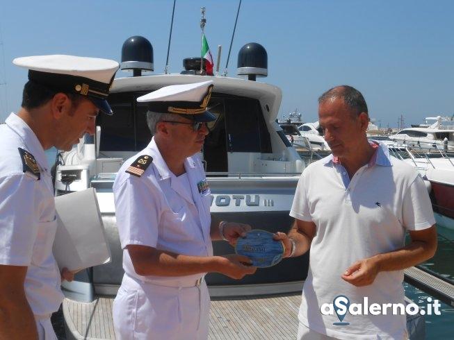 Capitaneria di Porto, in corso la campagna di distribuzione dei bollini blu - aSalerno.it