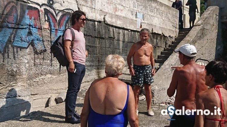 """Santoro: """"Urge manutenzione alle scale del Porticciolo"""" - aSalerno.it"""