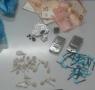 Foto della droga - dei soldi e del materiale sequestrati ad arrestato 2