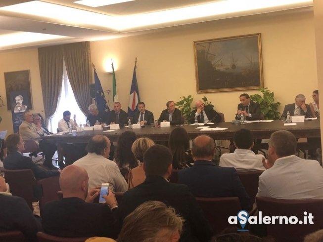 "Universiadi, De Luca: ""Lavoreremo senza sosta"" - aSalerno.it"