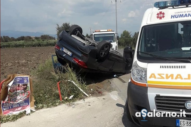 Incidente tra due auto ad Eboli – FOTO - aSalerno.it