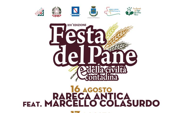 Trentinara, tutto pronto per la nuova edizione della Festa del Pane - aSalerno.it