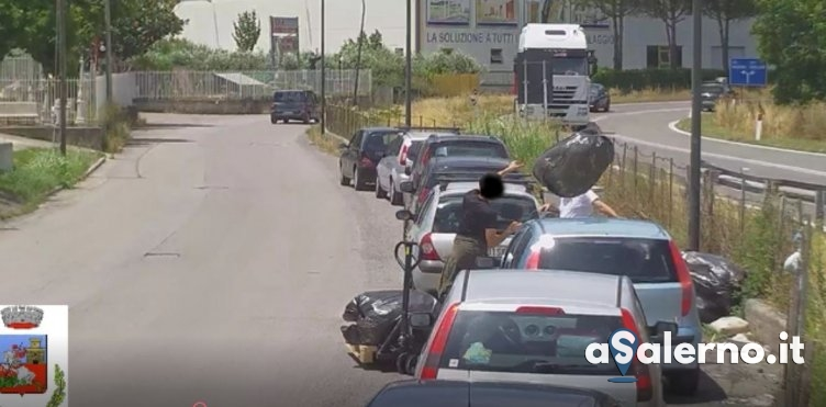 Sversamento di rifiuti a Castel San Giorgio, le immagini che hanno incastrato 50 persone - aSalerno.it