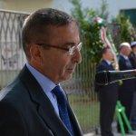 Salerno - Commemorazione Agenti Polizia De Marco - Bandiera vittime attentato terroristico 4-min