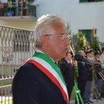 Salerno - Commemorazione Agenti Polizia De Marco - Bandiera vittime attentato terroristico 7-min