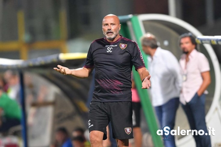 "Salernitana, Colantuono: ""Non bisogna accontentarsi"" - aSalerno.it"