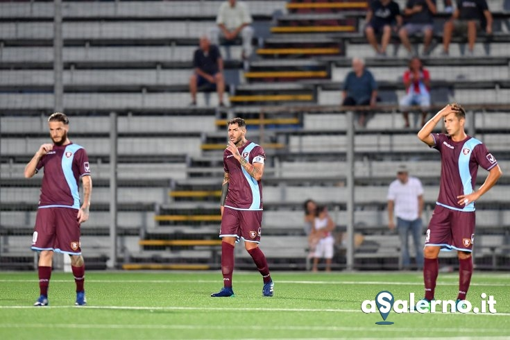 Salernitana, diavolo di un Entella: granata sotto 2 a 0 (pt) - aSalerno.it