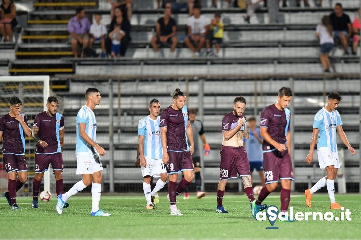 Salernitana, che inforcata: Entella avanti in coppa (2-0) - aSalerno.it