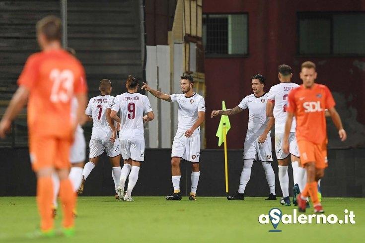 Salernitana, si brinda con il gol di Bocalon: 1-0 al Rezzato (pt) - aSalerno.it
