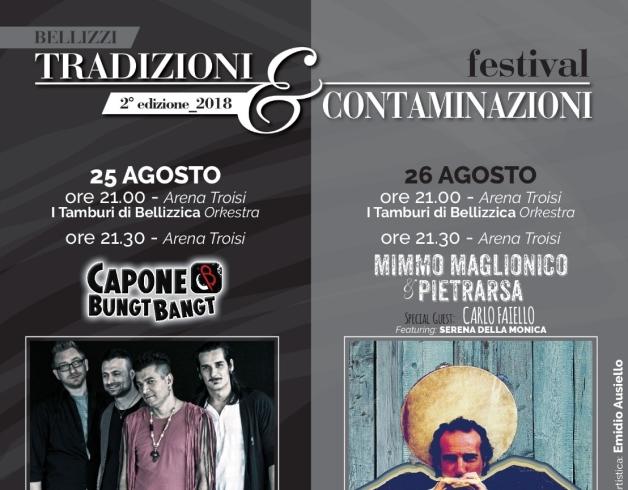 """Bellizzi, al via la seconda edizione del Festival """"Tradizioni e Contaminazioni"""" - aSalerno.it"""
