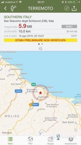 Terremoto in Molise, scossa sentita anche a Salerno - aSalerno.it