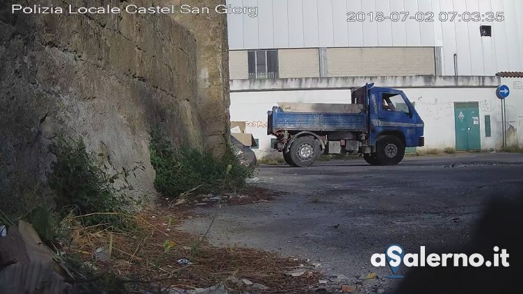 Sversamento rifiuti a Castel San Giorgio: polizia incastra 50 persone - aSalerno.it