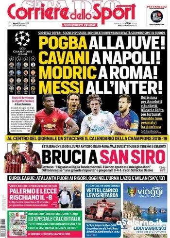 Edicola #aSalerno | Le prime pagine in Italia e nel mondo - aSalerno.it