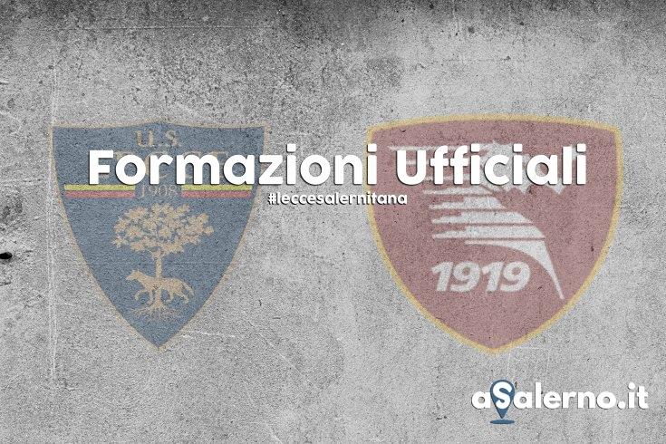 Lecce-Salernitana, le formazioni ufficiali - aSalerno.it