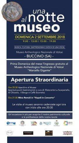 Notte al museo di Buccino con giochi, storia e gastronomia - aSalerno.it