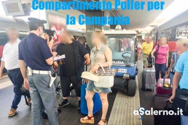 Report della Polizia ferroviaria, ordine e sicurezza pubblica - aSalerno.it