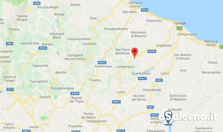 La terra trema in Molise: scossa avvertita anche a Salerno - aSalerno.it