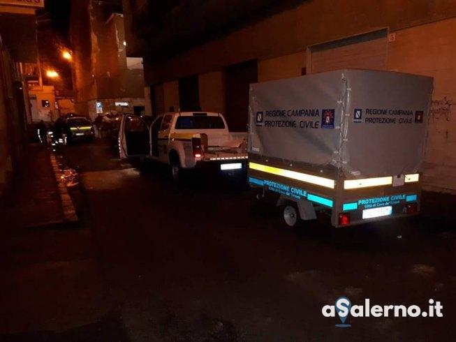 """Nubifragio a Cava, centro allagato, il sindaco: """"Allerta meteo fino alle 16″ - aSalerno.it"""
