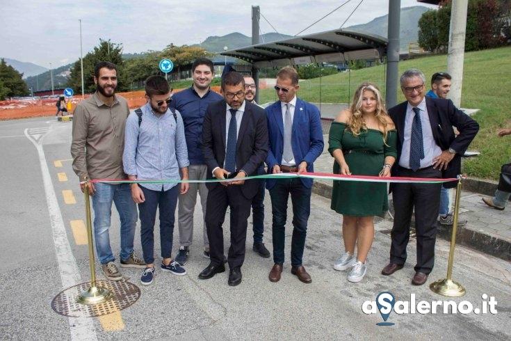 Nuovo servizio di collegamento Intercampus – LE FOTO - aSalerno.it