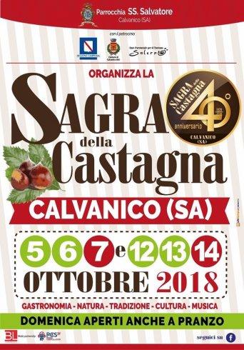 La sagra della Castagna di Calvanico compie 40 anni, sarà edizione Gold - aSalerno.it