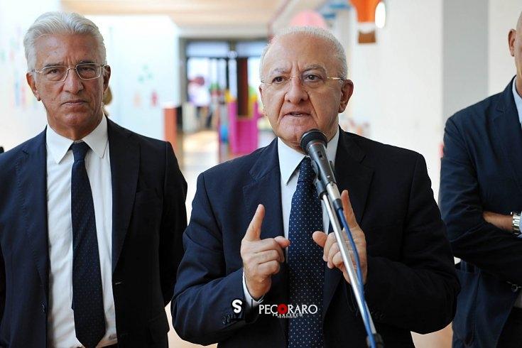 """De Luca tuona, confronto con Ministro Sanità: """"Siamo Regione con più bassa mortalità Covid in Italia"""" - aSalerno.it"""