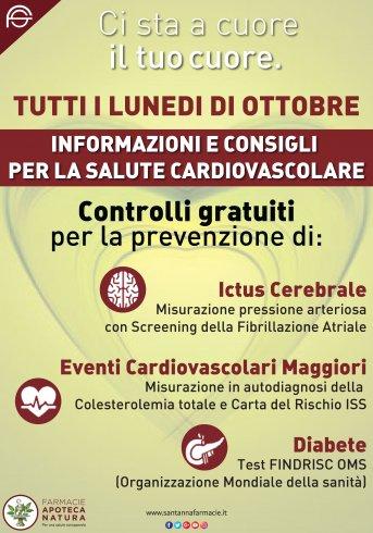"""""""Ci sta a cuore il tuo cuore"""": la campagna di prevenzione cardiovascolare - aSalerno.it"""