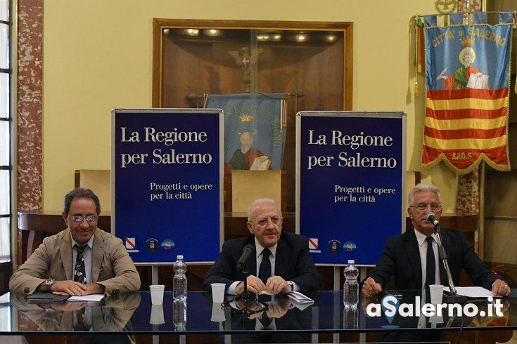 """Progetti e opere, De Luca: """"Il turismo è il destino di Salerno"""" - aSalerno.it"""