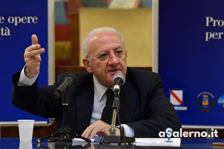 """Salerno Pulita, De Luca: """"Ad ottobre stabilizzeremo 150 lavoratori precari"""" - aSalerno.it"""