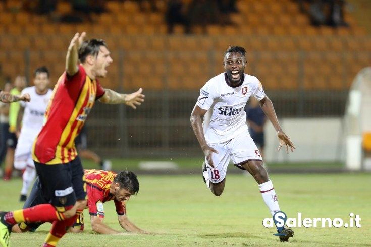 """Akpa Akpro:""""La squadra ha dimostrato carattere riuscendo ad ottenere il pareggio"""" - aSalerno.it"""