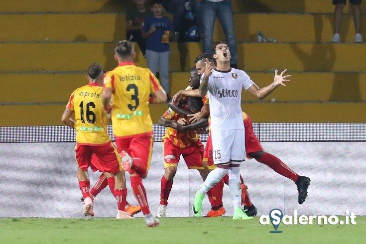 Salernitana, incornata di Maggio: Benevento avanti (1-0 pt) - aSalerno.it