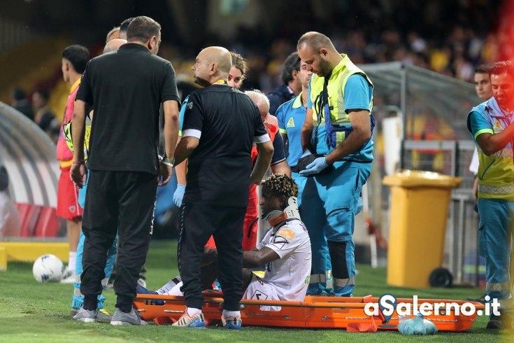 Tanta paura per Djavan, l'olandese è rientrato a Salerno con la squadra - aSalerno.it