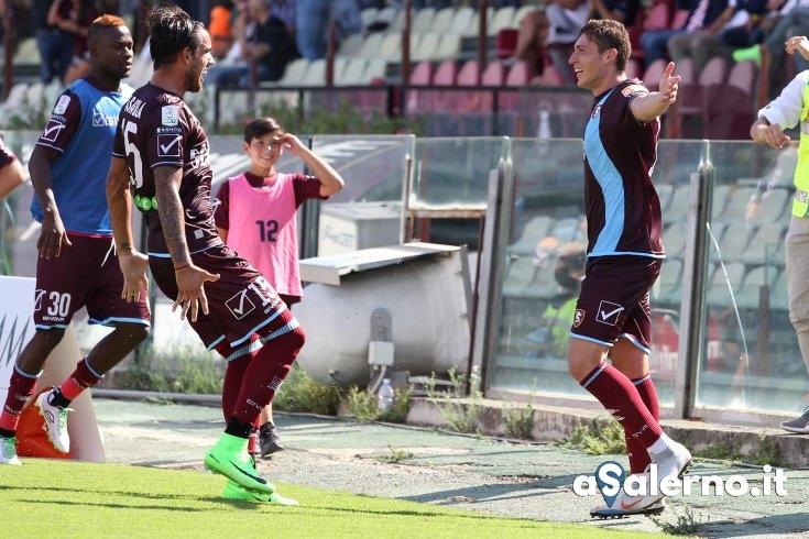 Salernitana, volée Di Tacchio: Padova sotto (1-0 pt) - aSalerno.it
