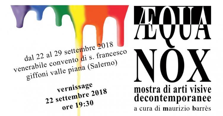 """Giffoni Valle Piana, apre la prima mostra di arti visive decontemporanee: """"Aequa Nox"""" - aSalerno.it"""