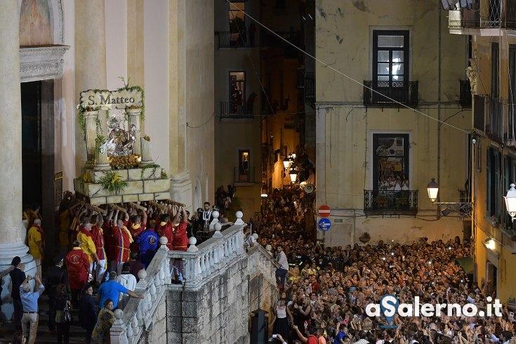 San Matteo 2018, silenzi e ritmi diversi rispetto al passato - aSalerno.it