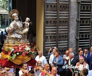 SAL - 18 09 2018 Salerno Comune. San Matteo entra in comune. Foto Tanopress