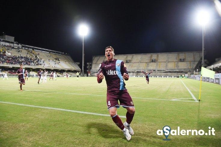 Salernitana, rimedia (in parte) Di Tacchio: 1 a 1 con l'Ascoli - aSalerno.it