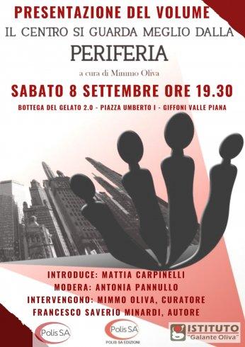 """Giffoni, sabato la presentazione del volume: """"Il Centro si guarda meglio dalla Periferia"""" - aSalerno.it"""