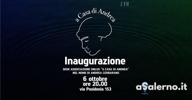"""""""A Casa di Andrea"""", una Onlus in nome di Andrea Cerbarano - aSalerno.it"""