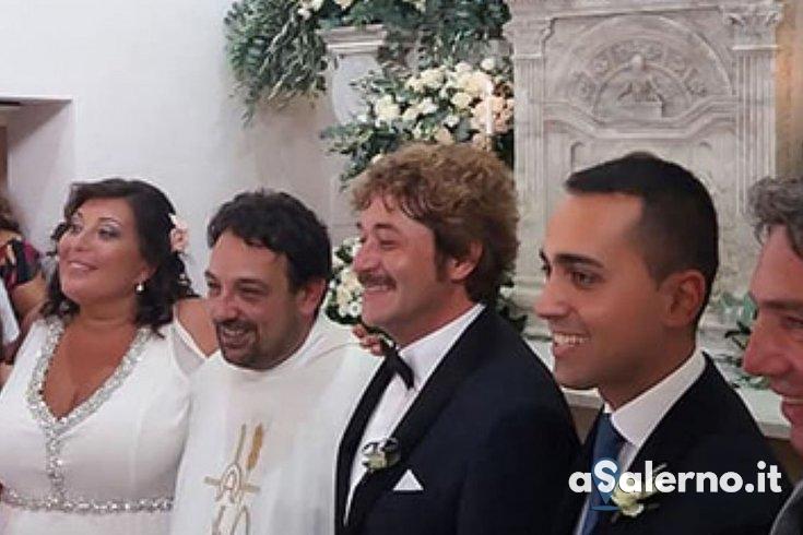 Nozze ad Agnone per Valeria Ciarambino: testimone Luigi Di Maio – FOTO - aSalerno.it