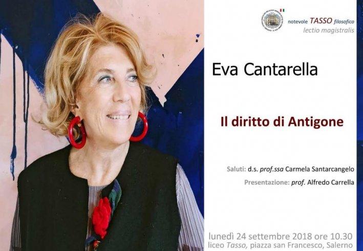 Eva Cantarella e l'Antigone protagonisti al Liceo Tasso - aSalerno.it