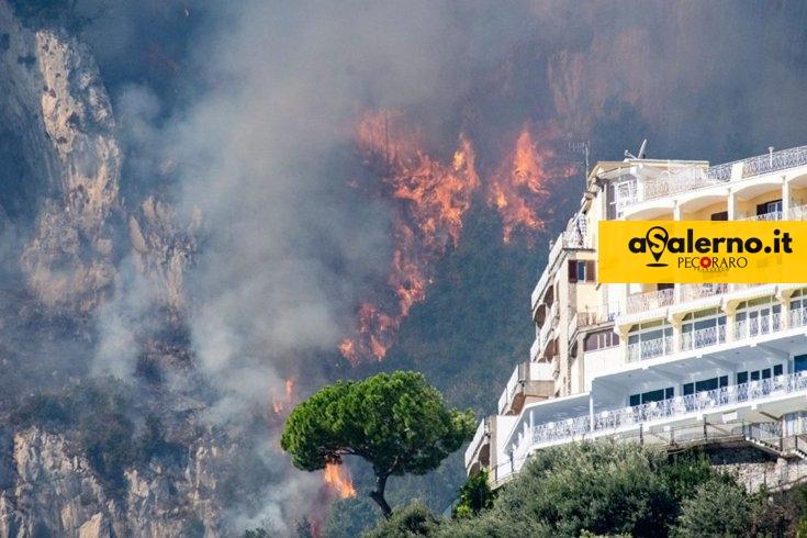 Incendi boschivi, guardia alta nel Cilento e rilievi di Sarno - aSalerno.it