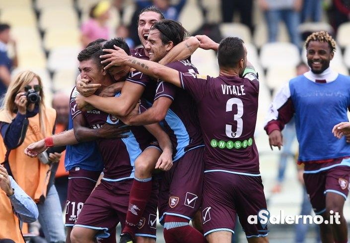 Salernitana, il dolce bacio lo consegna Casasola: 2 a 1 al Perugia - aSalerno.it