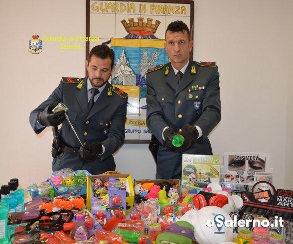 """Halloween """"tossico"""", sequestrati più di 300mila articoli nel Salernitano - aSalerno.it"""