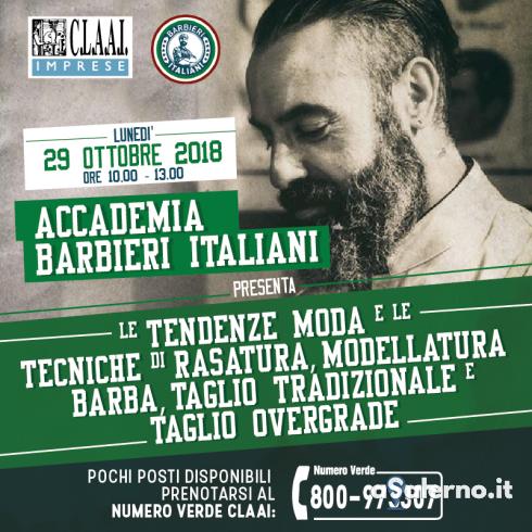 La rinnovata arte del barbiere: a Salerno la giornata formativa della CLAAI - aSalerno.it