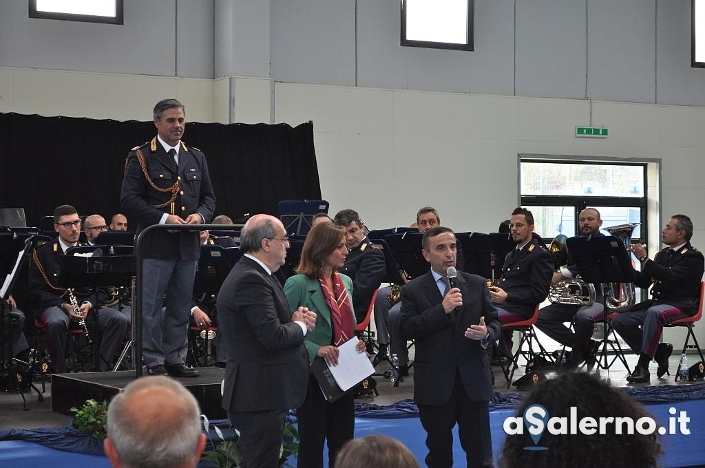 Momento della cerimonia di intitolazione Piazza a Giovanni Palatucci 4