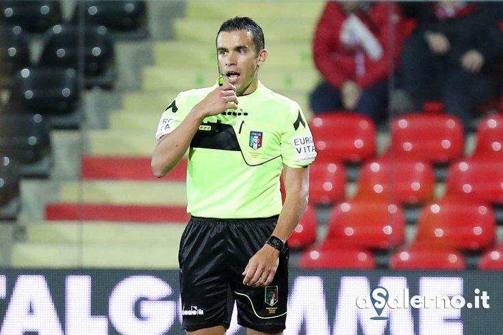 Marco Piccinini è l'arbitro di Salernitana – Perugia - aSalerno.it